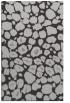 rug #595889 |  orange circles rug