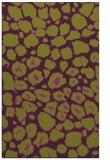 rug #595917 |  purple animal rug