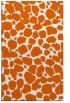rug #595957    red-orange circles rug