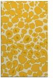 rug #595977    yellow circles rug