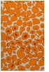 rug #596005 |  orange animal rug