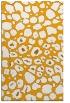 rug #596025 |  light-orange circles rug