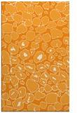 rug #596033 |  light-orange animal rug