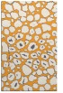 rug #596037 |  light-orange circles rug