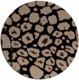 rug #596053   round black circles rug