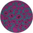 rug #596105 | round pink circles rug
