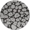 rug #596241 | round red-orange circles rug