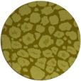 rug #596361 | round light-green circles rug