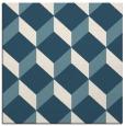 rug #596769 | square white retro rug