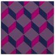 rug #596773 | square pink retro rug