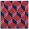 rug #596837 | square pink rug