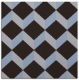 rug #596857 | square blue-violet retro rug