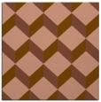 rug #596889   square mid-brown retro rug