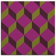 rug #596973 | square purple popular rug