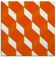 rug #597013   square red-orange retro rug