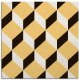 rug #597041 | square brown retro rug
