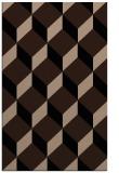 rug #597461 |  black retro rug