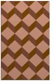 rug #597593 |  mid-brown retro rug