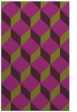 rug #597677 |  purple popular rug