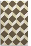 rug #597741 |  yellow retro rug