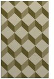rug #597781 |  light-green rug