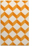 rug #597793 |  light-orange retro rug