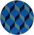 rug #597971 | round retro rug