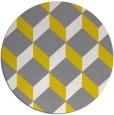 rug #598101   round white retro rug