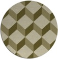 rug #598134 | round retro rug