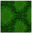 rug #598573 | square green damask rug