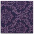 rug #598601 | square blue-violet rug