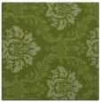 rug #598629 | square green damask rug