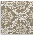 rug #598645 | square mid-brown damask rug