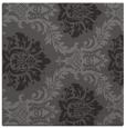 rug #598653   square brown damask rug
