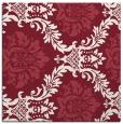 rug #598717 | square pink damask rug