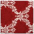 rug #598753   square red damask rug