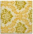 rug #598793 | square yellow rug