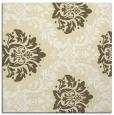 rug #598797 | square yellow damask rug