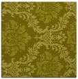 rug #598825 | square light-green damask rug