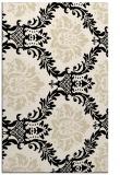 rug #599285    blue-green damask rug