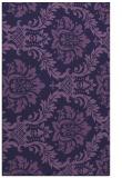 rug #599305 |  blue-violet rug