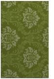 rug #599333 |  green damask rug