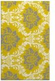 rug #599509 |  white damask rug