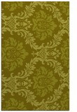 rug #599529 |  light-green damask rug