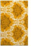 rug #599545 |  light-orange damask rug
