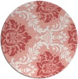 rug #599781 | round white rug