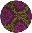 rug #599789 | round damask rug