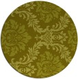 rug #599881 | round light-green damask rug