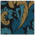 rug #600285 | square mid-brown damask rug