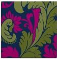 rug #600301 | square green damask rug